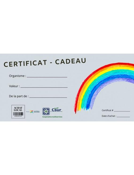 Coop CSUR Gift certificate
