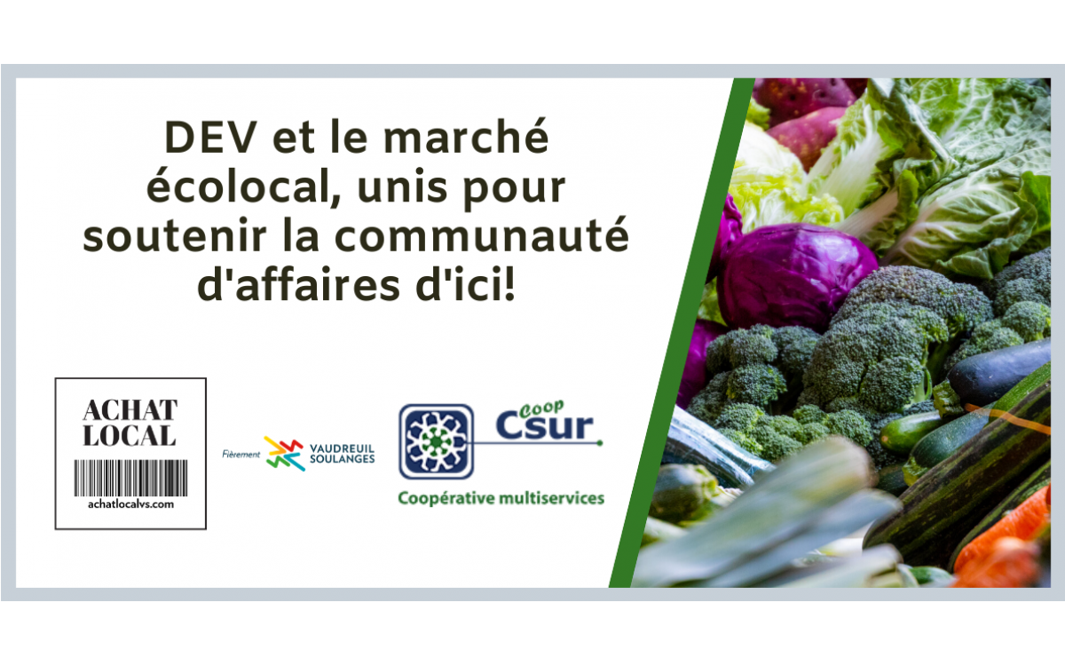 Supporting business community in Vaudreuil-Soulanges