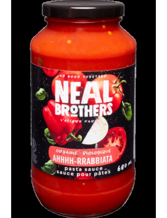 NB Ahhhh-rrabbiata pasta sauce