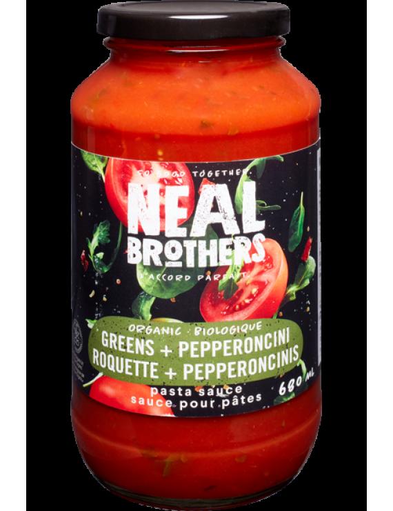 NB Greens & Pepperoncini pasta sauce
