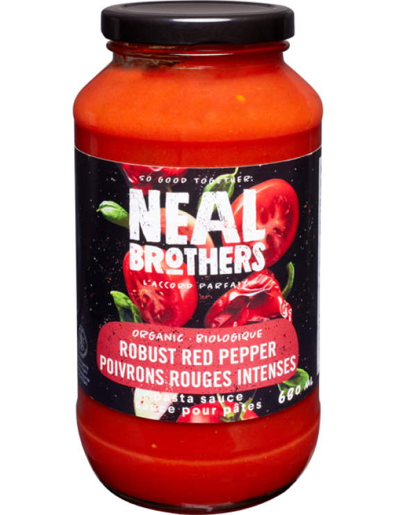 NB Robust red pepper pasta sauce
