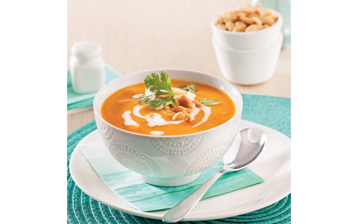 Thai butternut and coconut milk cream