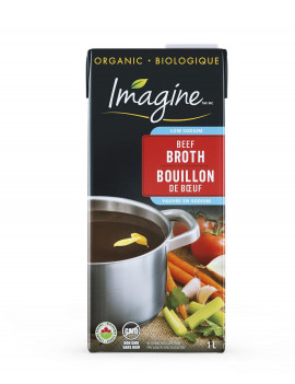 Beef broth liquid