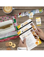 Beeswax food wrap DIY set