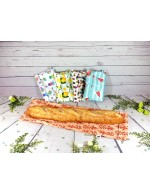 "Reusable waterproof baguette bread size bag 22""X7"" 