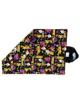 Halloween fabric candy bag || Trick or Treat bag || Trick-or-treating bag || Shoe bag