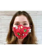Non-Medical Face Covering Mask | With seam | Small adult or teen
