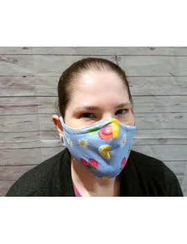 Non-Medical Face Covering Mask | With seam | Adult standard