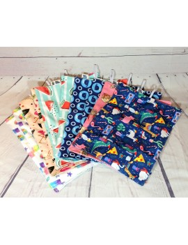 Little Student Place Mat    Place mat with its utensils pocket    Many choices of fabric    Zero Waste