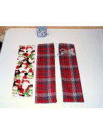 Fabric Wine Bottle Bag    Christmas Gift Wrap    Festive Reusable Gift Bag    Zero Waste Wrap