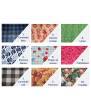 """Reusable waterproof straw bag 2""""X9"""" 