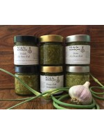 Garlic scapes relish