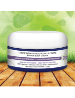 Lavander and rosemary body cream