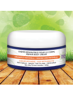 Orange and patchouli body cream