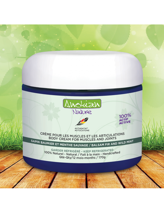 Body cream for muscles and joints pain