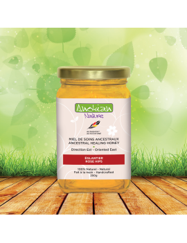 Rosehips ancestral healing honey