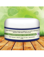 Eczema / Psoriasis: Repair treatment for the body and scalp (honey and wild herbs mask)