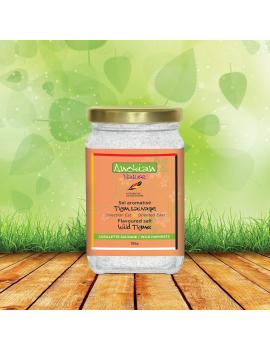 Wild thyme flavoured salt