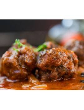 Meat ball stew
