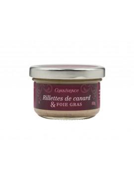 Duck rillettes & foie gras