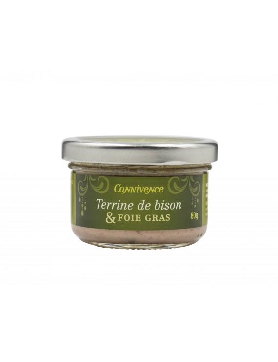 Bison terrine & foie gras