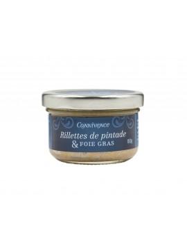 Guinea-fowl rillettes & foie gras