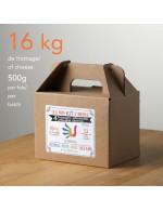 4 Cheeses | U MAIN Artisan homemade cheesemaking kit