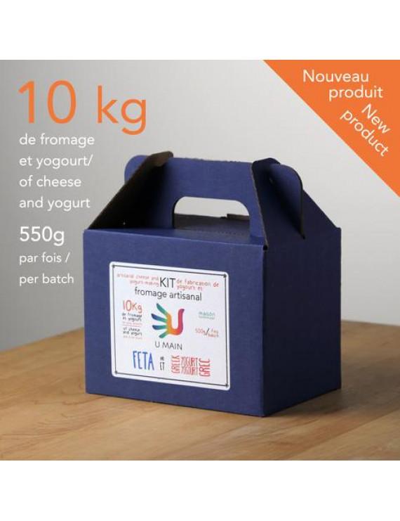 Feta & Greek yogurt DIY kit - UMAIN