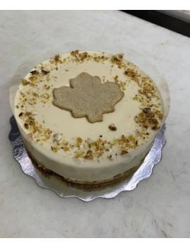 Mousse Maple cake