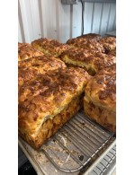 Bacon and Cheese bread 725gr