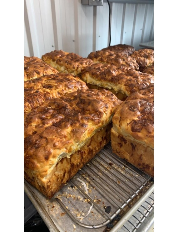 Bacon and Cheese bread 725gr FROZEN