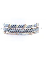 Wakami Bracelet - Circle of Life (Blue)