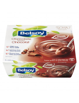 Belsoy organic chocolate soy dessert