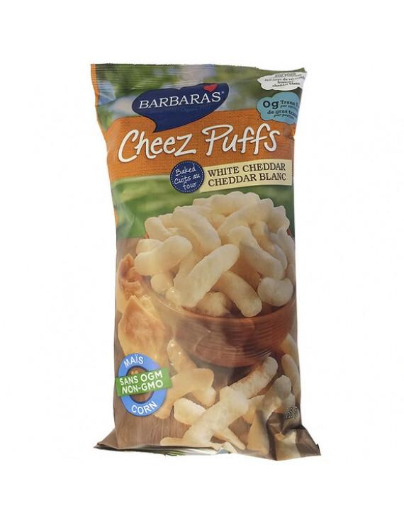 White cheddar Cheez puffs