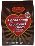 Chocolate snaps organic cookies