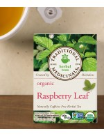 Raspberry leaf herbal tea