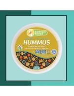 Organic Turmeric Masala Lentil hummus