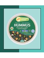 Organic Hummus roasted garlic and spinach
