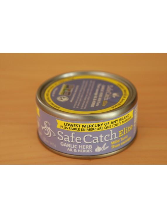 Wild tuna - garlic herb