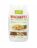 Red and white quinoa macaroni