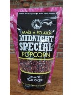 Midnight Special Red organic popcorn