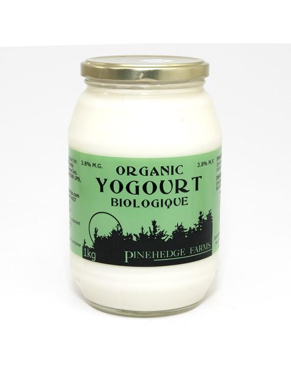 Organic yogurt plain 3,8%