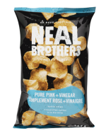 NB Pure Pink and vinegar Kettle Chips
