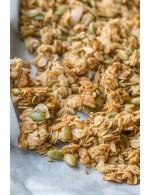 Pumpkin seed and flax Granola