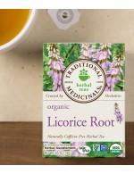 Licorice root herbal tea