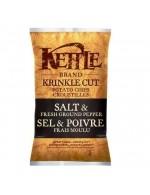 Salt and fresh groun pepper chips