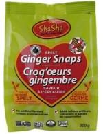 Spelt Ginger snaps cookies