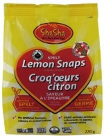 Lemon snaps organic cookies
