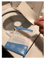 Laundry detergent strips