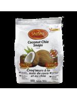 Coconut Chia Snaps (Cookies)